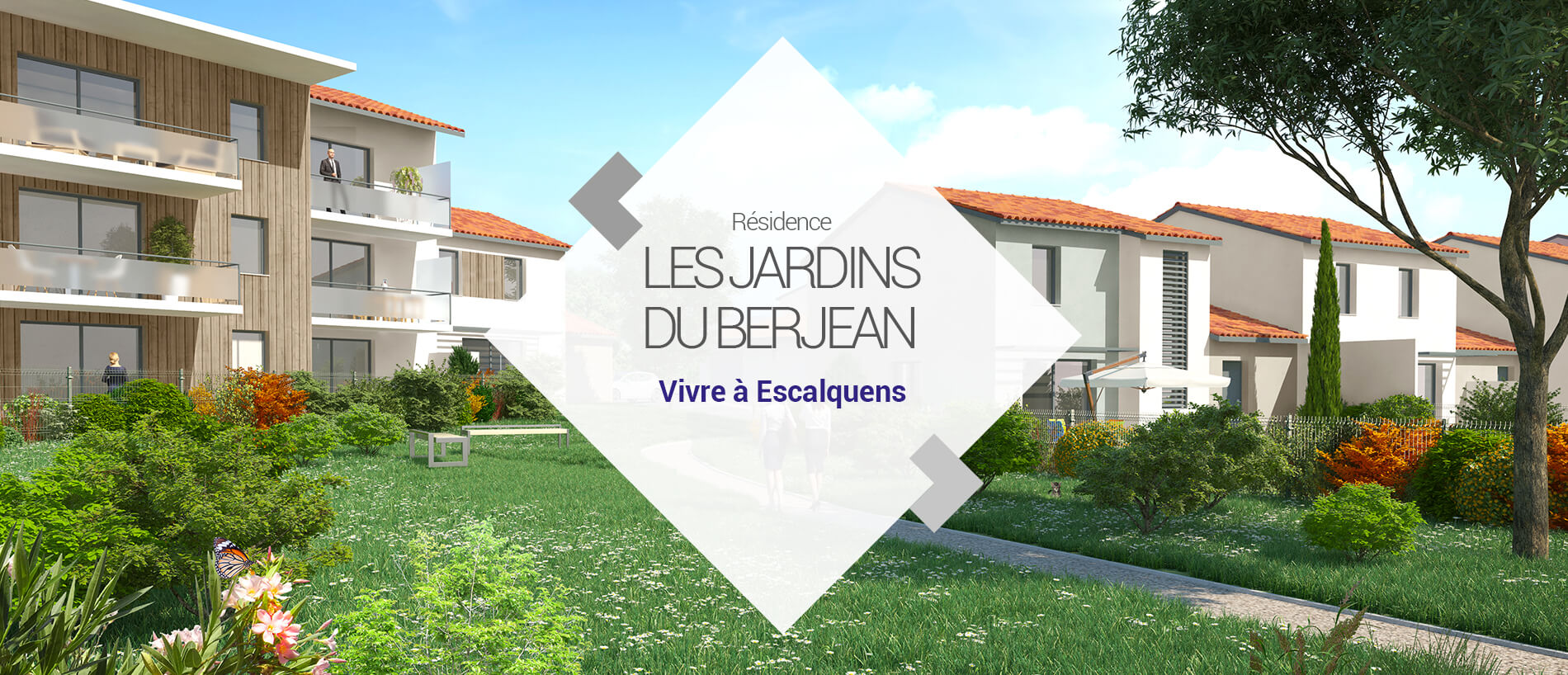 BG Promotion - Slide Vidéo 3D - Les Jardins du Berjean