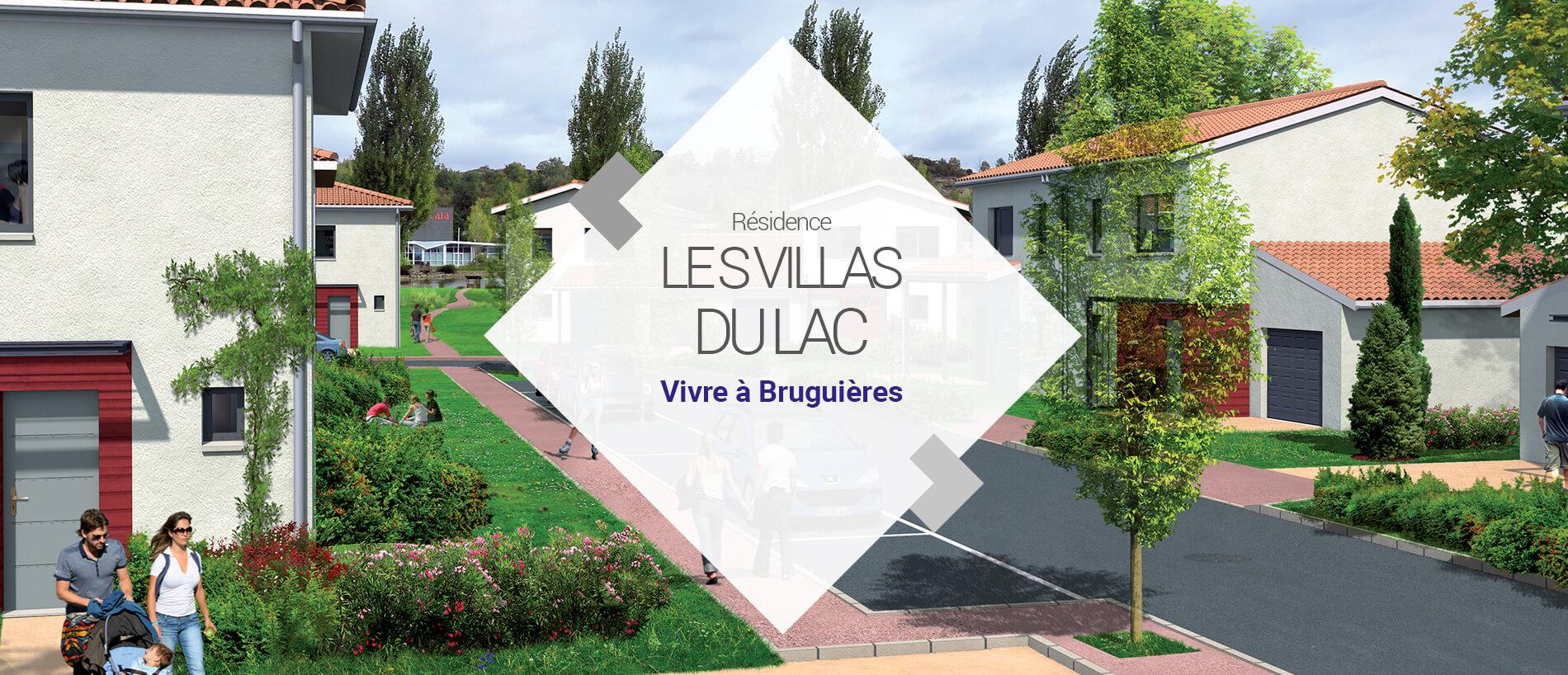 BG Promotion - Slide Vidéo 3D - Les Villas du Lac