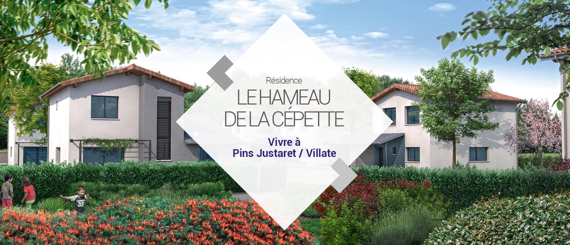 BG Promotion - Slide Vidéo 3D - Le Hameau de la Cépette